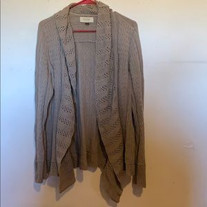 Sonoma womens size L open front cardigan
